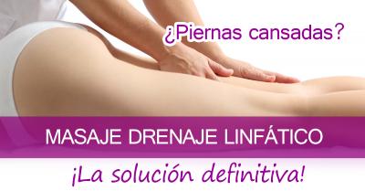 drenaje linfático piernas