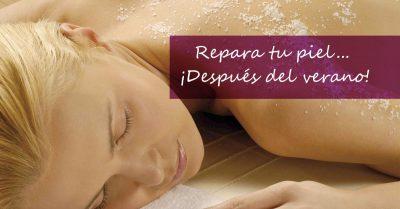 Recuperar tu piel depués del verano