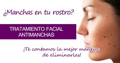 Tratamiento facial anti manchas