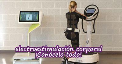 electroestimulación corporal